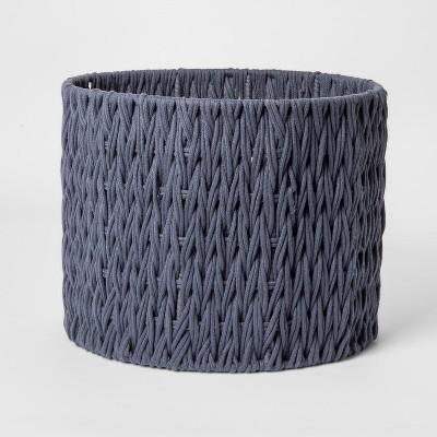Round Woven Basket Medium Blue - Project 62™