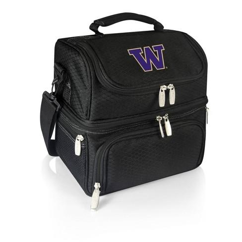NCAA Washington Huskies Pranzo Dual Compartment Lunch Bag - Black - image 1 of 4