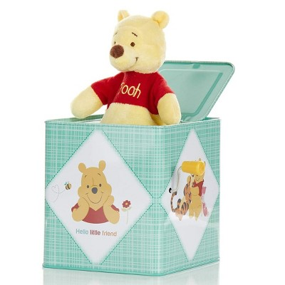 """Kids Preferred Winnie the Pooh Jack-in-the-Box - Plays """"Winnie the Pooh Song"""""""