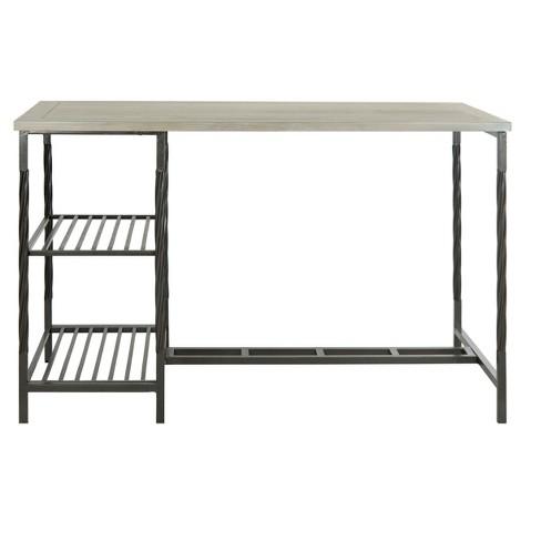 Collin Desk - Gray - Safavieh® - image 1 of 3