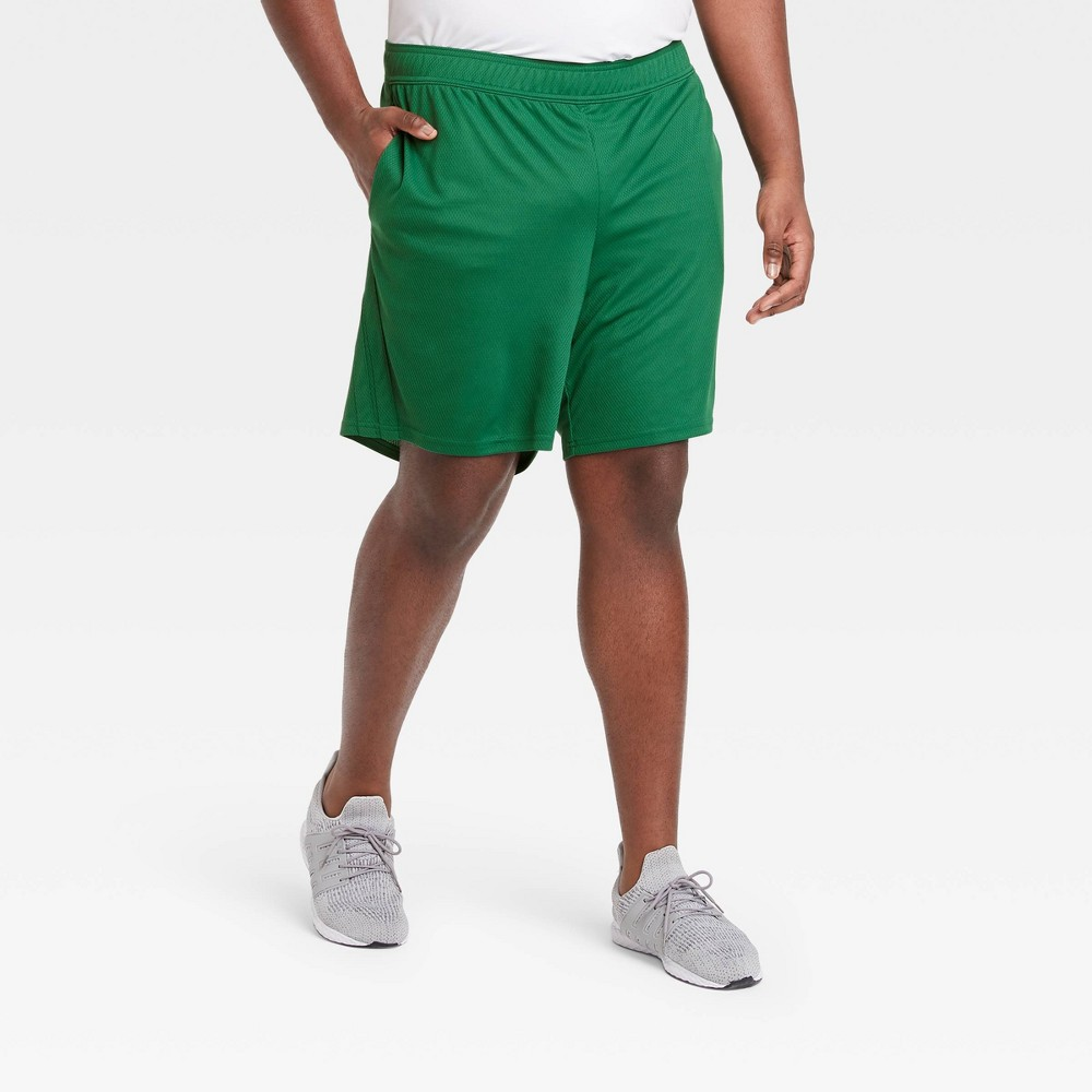 Men 39 S Mesh Shorts All In Motion 8482 Green L