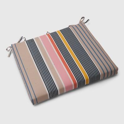 Multi-Stripe Outdoor Seat Cushion Picnic - Threshold™