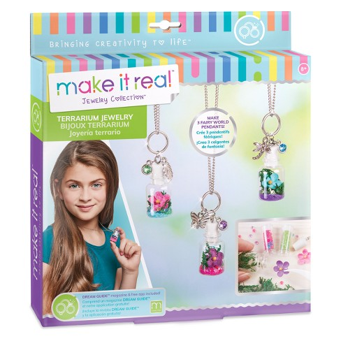 Make It Real Terrarium Jewelry Activity Kit - image 1 of 5