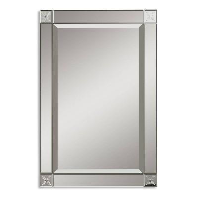 Rectangle Emberlynn Frameless Decorative Wall Mirror - Uttermost