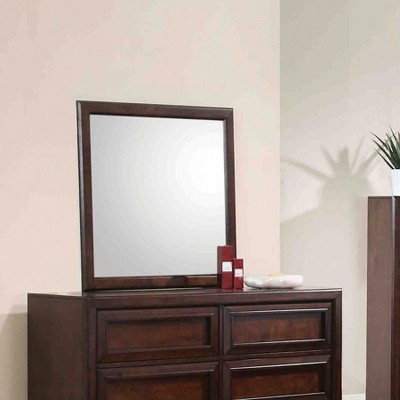 Classic Dresser Mirror Maple Oak - Private Reserve