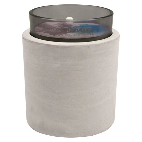 Glass and Concrete Container Candle Cardamom & Fig 16oz - Vineyard Hill Naturals by Paddywax® - image 1 of 1