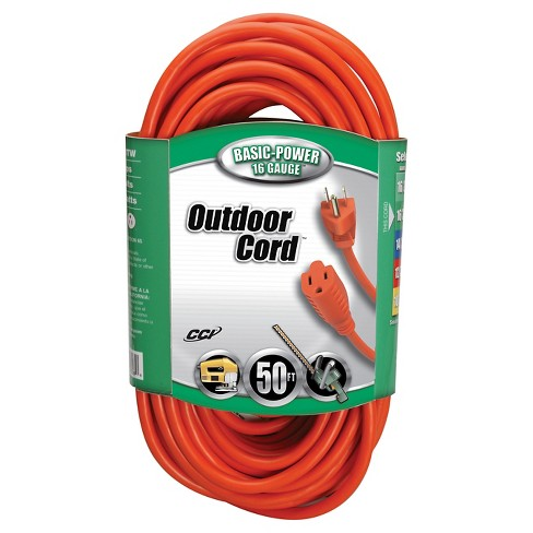 2.5x6.25x12.5 Coleman Cable Extension Cord - image 1 of 1