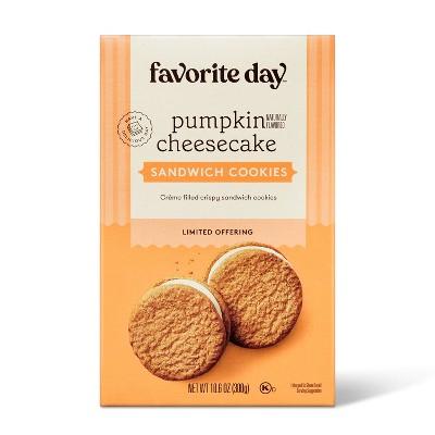 Pumpkin Cheesecake Cookies - 10.6oz - Favorite Day™