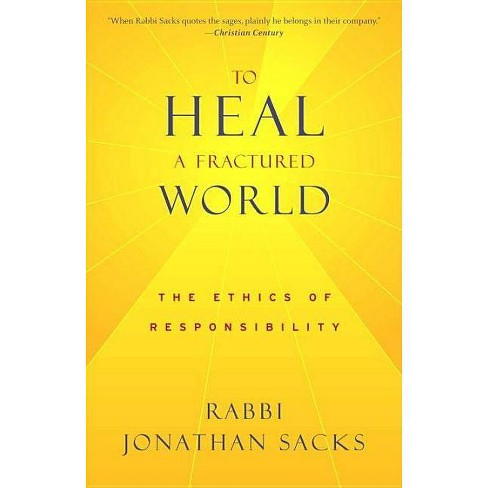 To Heal a Fractured World - by  Jonathan Sacks (Paperback) - image 1 of 1