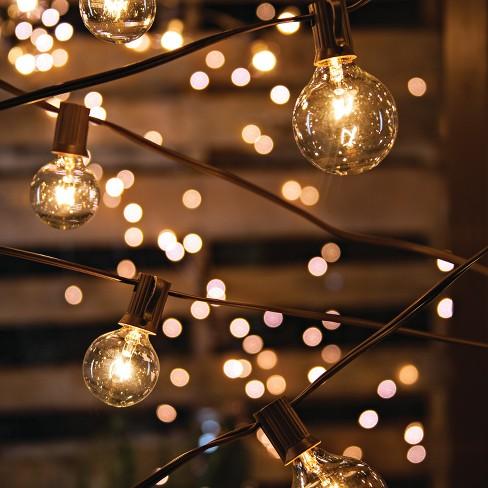 20ct LED Patio String Lights