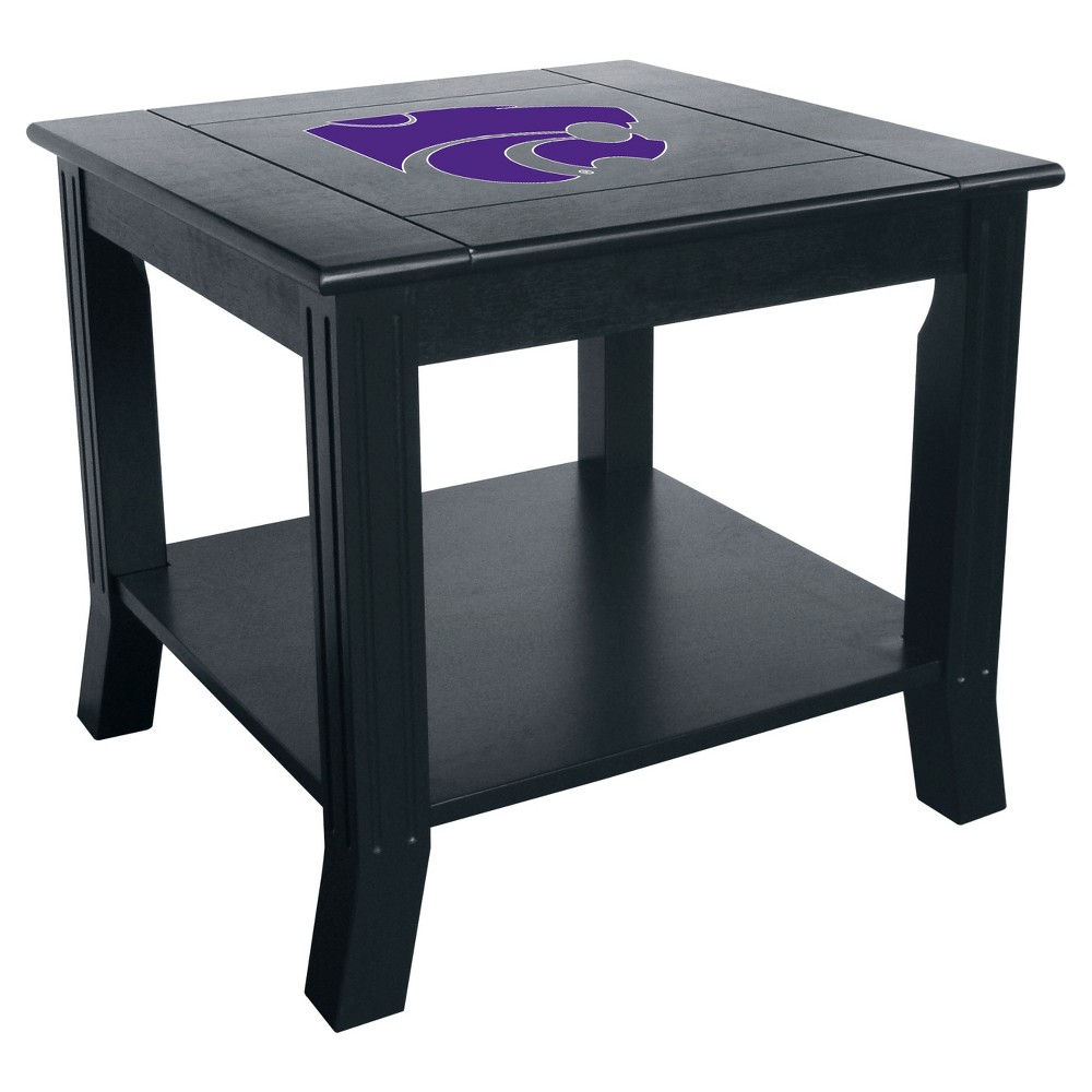 NCAA Imperial Side Table Kansas State Wildcats