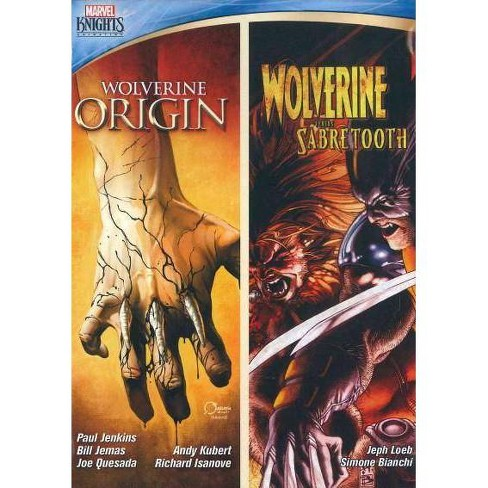 MARVEL KNIGHTS:WOLVERINE DOUBLE FEATURE  DVD - image 1 of 1