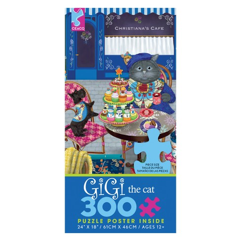 Ceaco 300Pc Gigi The Shopper Jigsaw Puzzle - image 1 of 1