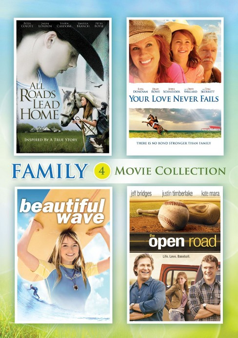 All Roads Lead Home/Your Love Never F (DVD) - image 1 of 1