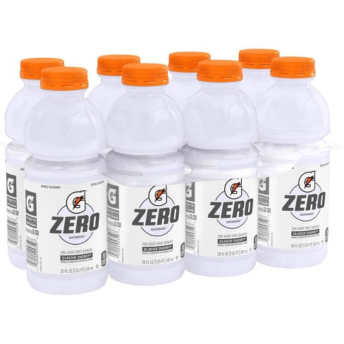 Gatorade G Zero Glacier Cherry Sports Drink - 8pk/20 fl oz Bottles - image 1 of 3