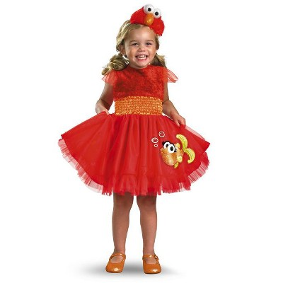 Sesame Street Sesame Street Frilly Elmo Toddler/Child Costume