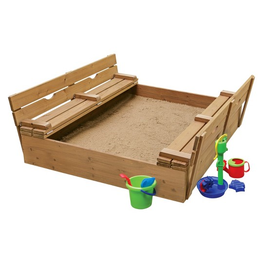 Covered 2-Bench Sandbox image number null