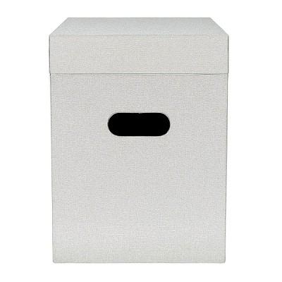 Fabric File Box Gray - Threshold™