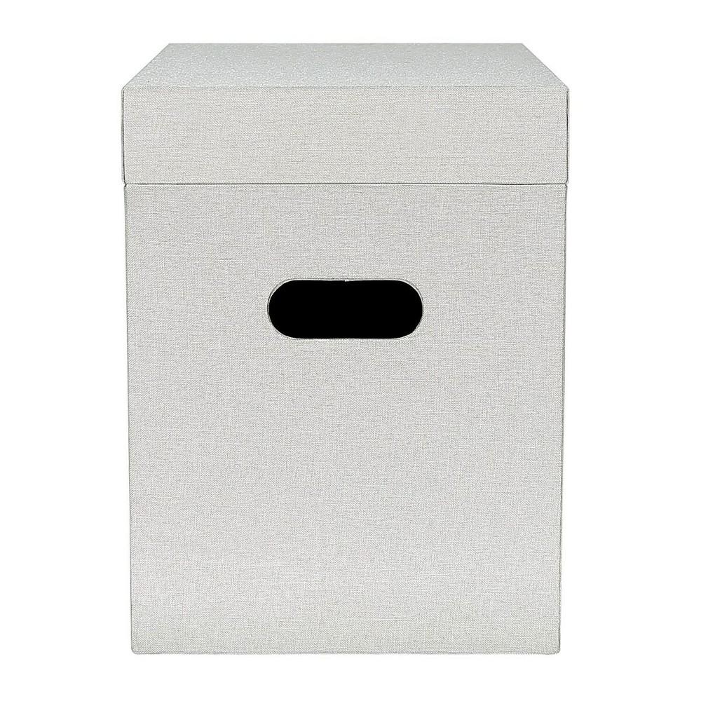 Fabric File Box Gray - Threshold