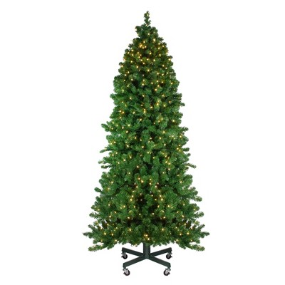 Northlight 7.5' Prelit Artificial Christmas Tree LED Olympia Pine - Warm White Lights