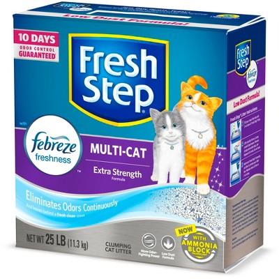 Cat Litter: Fresh Step Multi-Cat