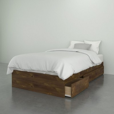 Soho 3 Drawer Bed Truffle - Nexera