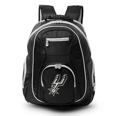 NBA San Antonio Spurs Colored Trim Laptop Backpack