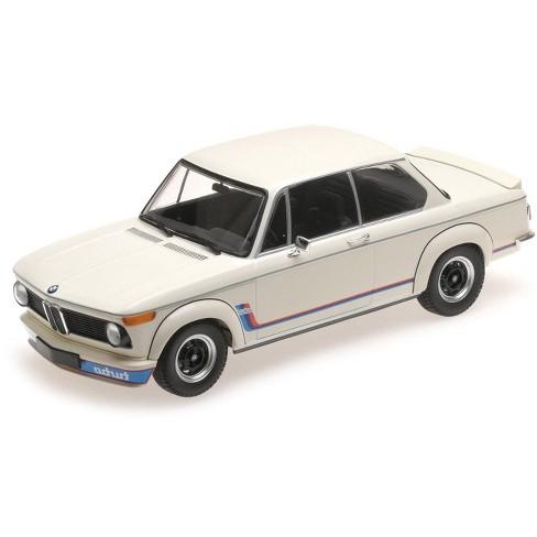 1973 Bmw 2002 Turbo White With Stripes 118 Diecast Model Car By