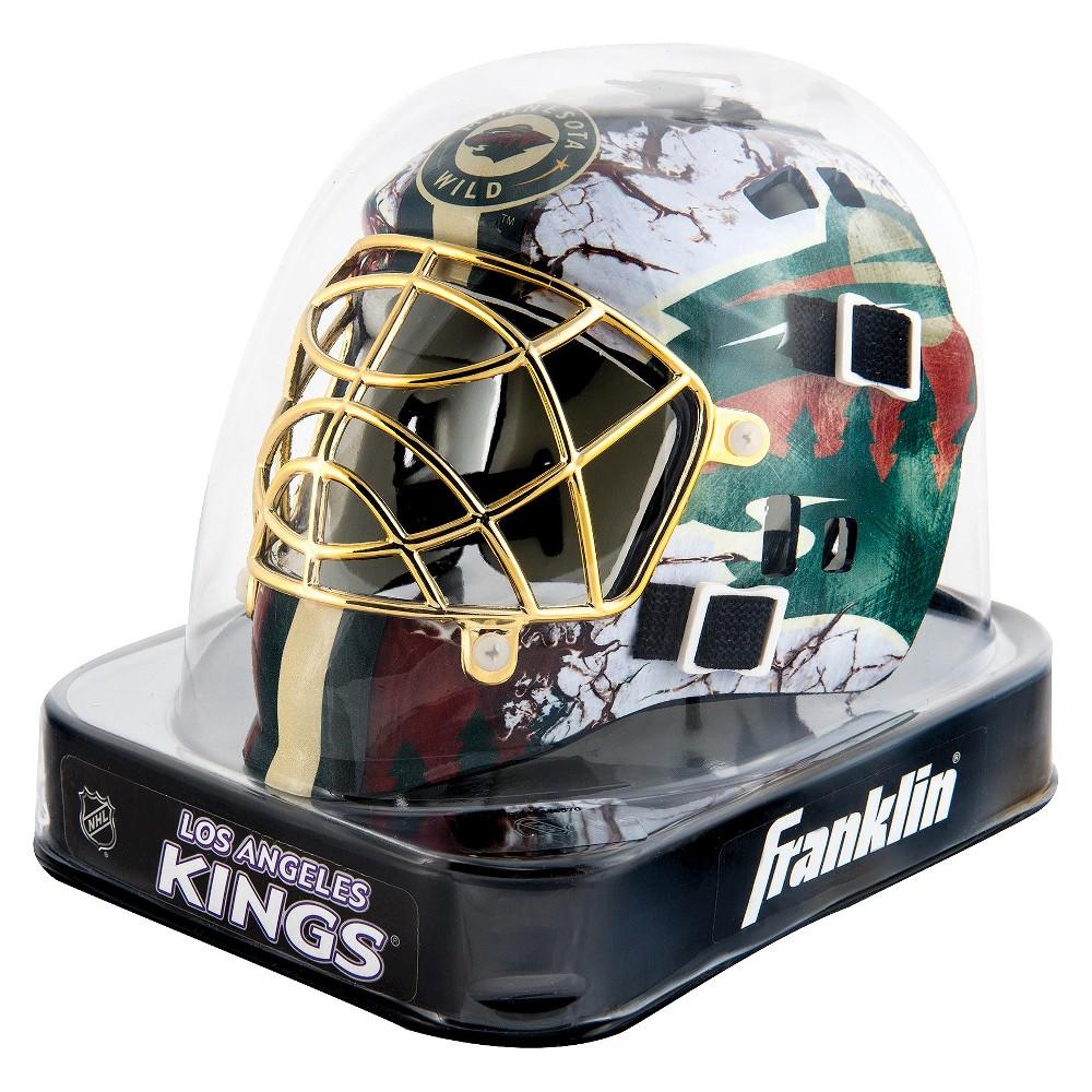 Franklin Sports Nhl Minnesota Wild Mini Goalie Mask