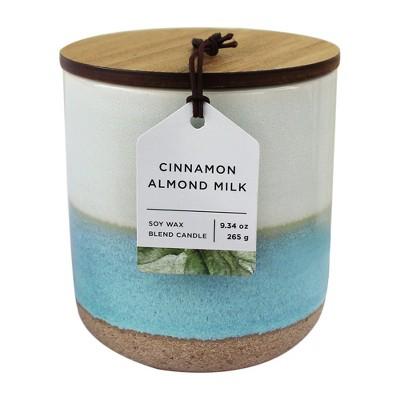 9.34oz Glazed Jar Candle Cinnamon Almond Milk - Chesapeake Bay Candle