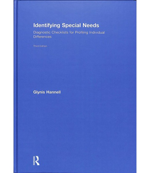 Identifying Special Needs : Diagnostic Checklists for Profiling Individual Differences -  (Hardcover) - image 1 of 1