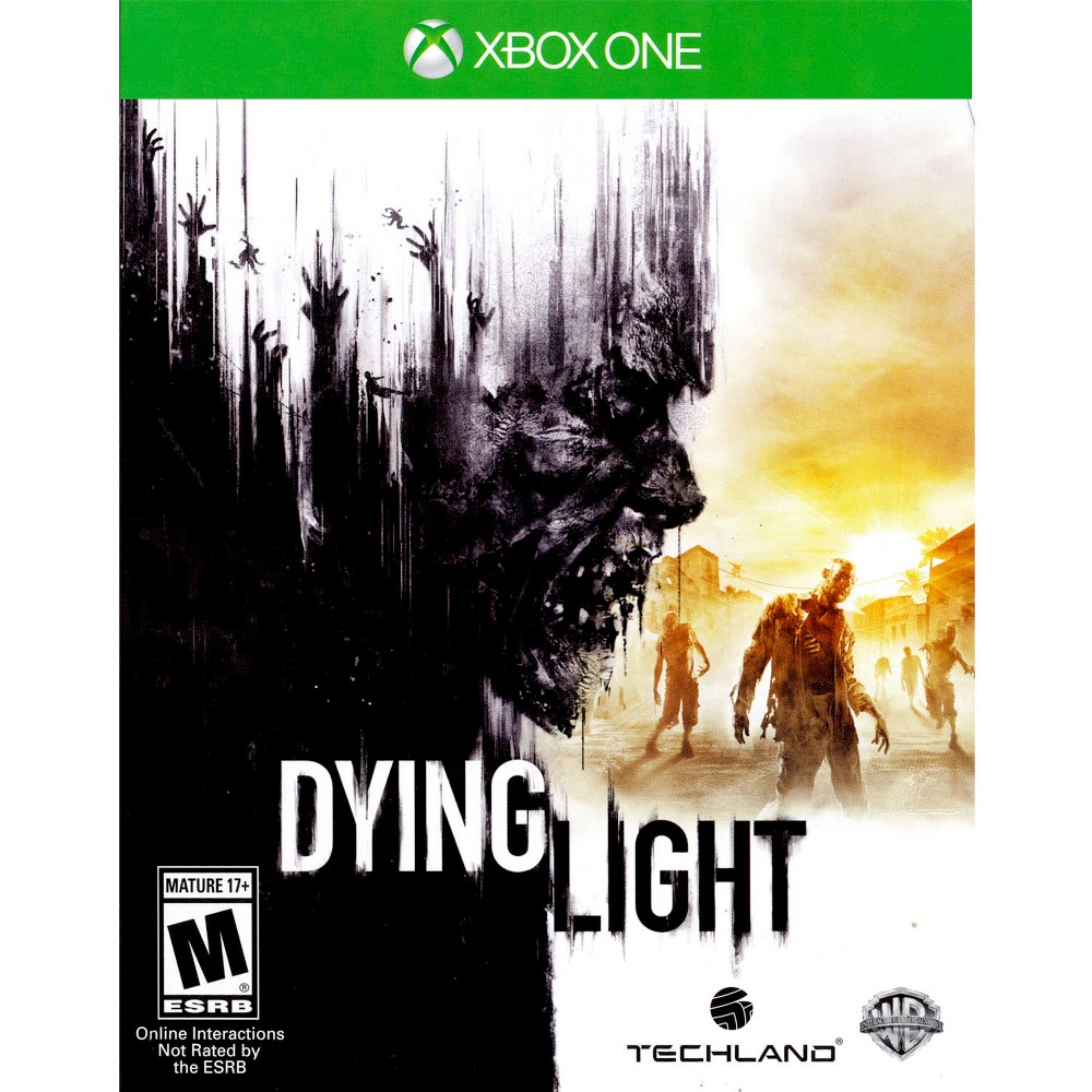 Dying Light Pre-Owned Xbox One Survive in an intense world where you are the prey in Dying Light Pre-Owned (Xbox One). The game works for Xbox One consoles. The pre-owned video game is in like-new condition and is recommended for ages 17 and older.