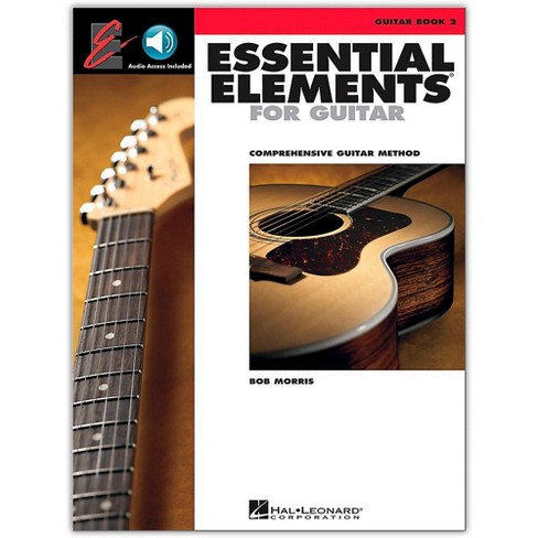 Hal Leonard Essential Elements for Guitar Book 2 Book/Online Audio - image 1 of 1
