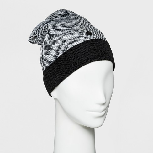 Women s Slouch Knit Two Tone Cloche Hat - C9 Champion® Gray Black   Target 5cc9da441