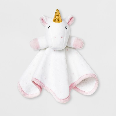 Baby Girls' Unicorn Washcloth - Cloud Island™ White