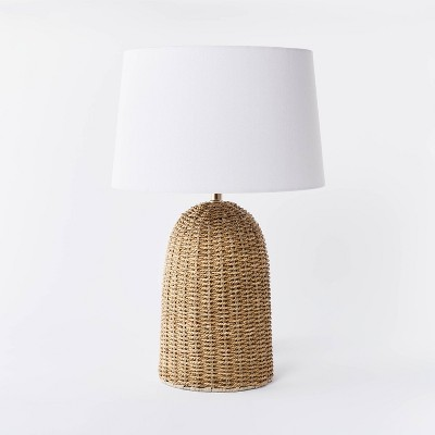 Large Seagrass Table Lamp (Includes LED Light Bulb)Natural - Threshold™ designed with Studio McGee