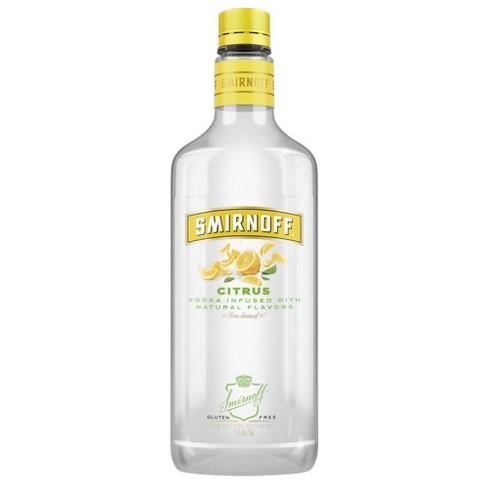 Smirnoff Citrus Vodka - 750ml Plastic Bottle - image 1 of 2