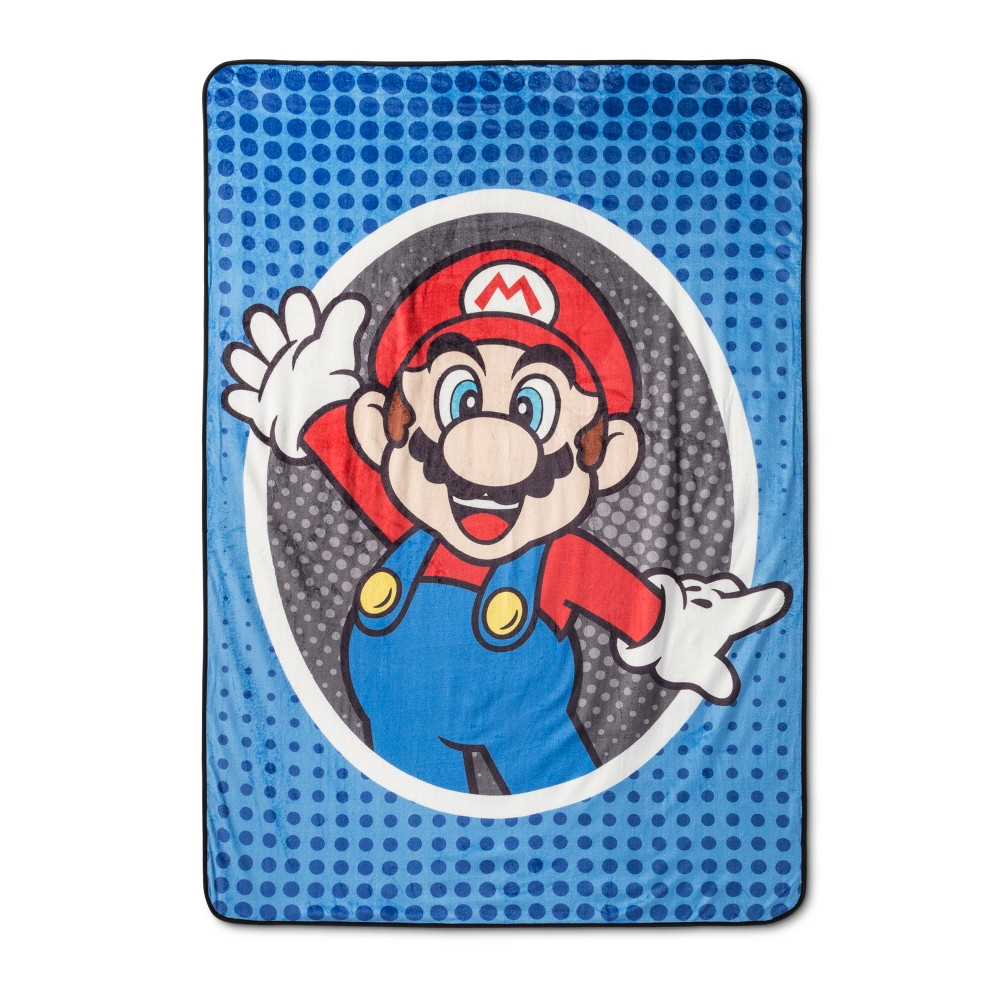 Image of Mario Twin Bed Blankets, bed blankets