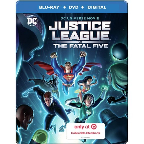 DCU: Justice League vs The Fatal Five (Target Exclusive) (Blu-Ray + DVD + Digital) - image 1 of 2