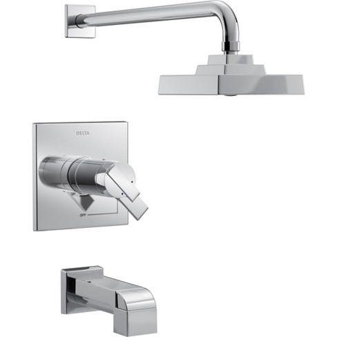 Delta Faucet T17T467 Ara TempAssure 17T Series Dual Function Thermostatic Tub and Shower Trim Package - image 1 of 3