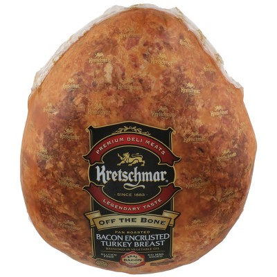 Kretschmar Off the Bone Bacon Covered Turkey Breast - price per lb