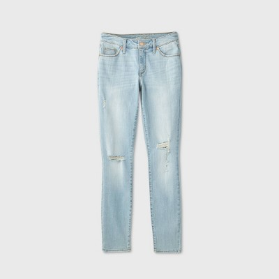 Women's Mid-Rise Curvy Skinny Jeans - Universal Thread™
