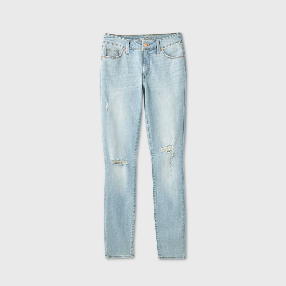 Women 39 S Mid Rise Curvy Skinny Jeans Universal Thread 8482 Light Wash 00 Short
