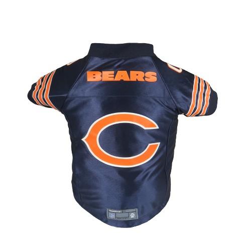 Chicago Bears Little Earth Pet Premium Football Jersey - Navy L   Target 269e5c7f4