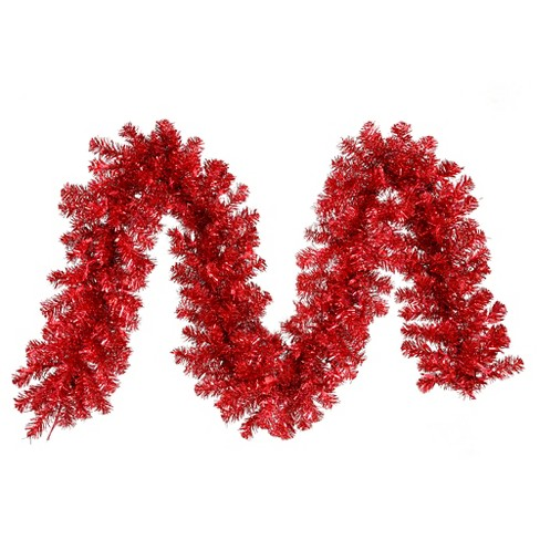 "9' x 12"" Garland70Lts 220T- Red - image 1 of 1"