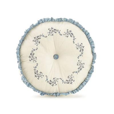 """14"""" Charlotte Round Decorative Throw Pillow - Modern Heirloom"""