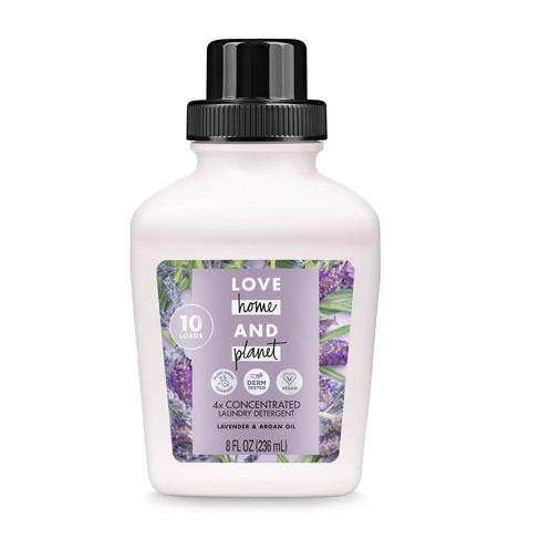 Love Home & Planet Lavender & Argan Oil Concentrated Laundry Detergent - 8 fl oz - image 1 of 2