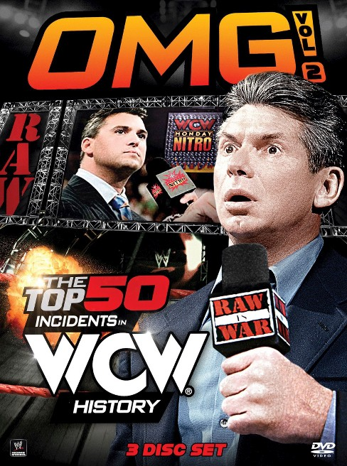 Omg Vol 2 The Top 50 Incidents In Wcw (DVD) - image 1 of 1