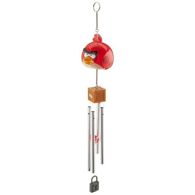 Commonwealth Toys Angry Birds Wind Chime, TNT Red
