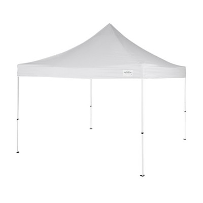 Caravan Canopy M Series Pro 2 10 x 10 ft Straight Leg Pop-Up Canopy Tent, White